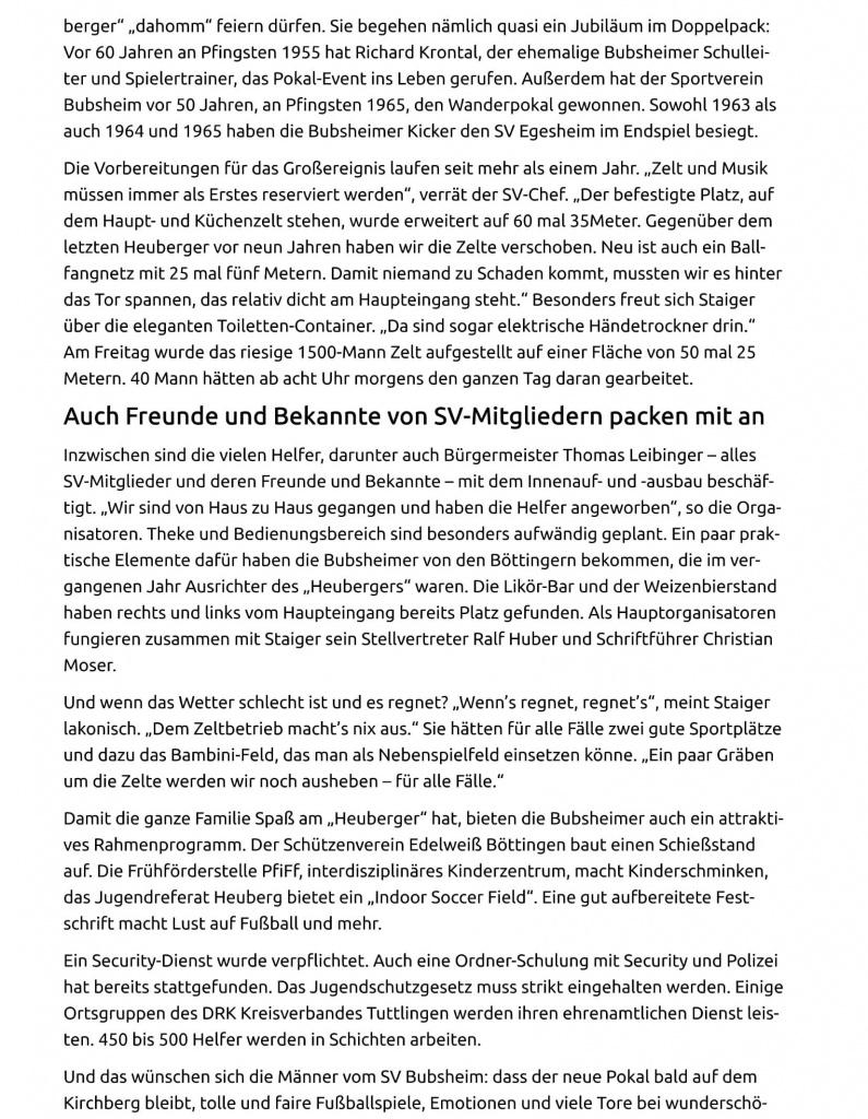 20.5.15 Spaichingen Bubsheimer fiebern dem ÔÇ×HeubergerÔÇ£ entgegen-2