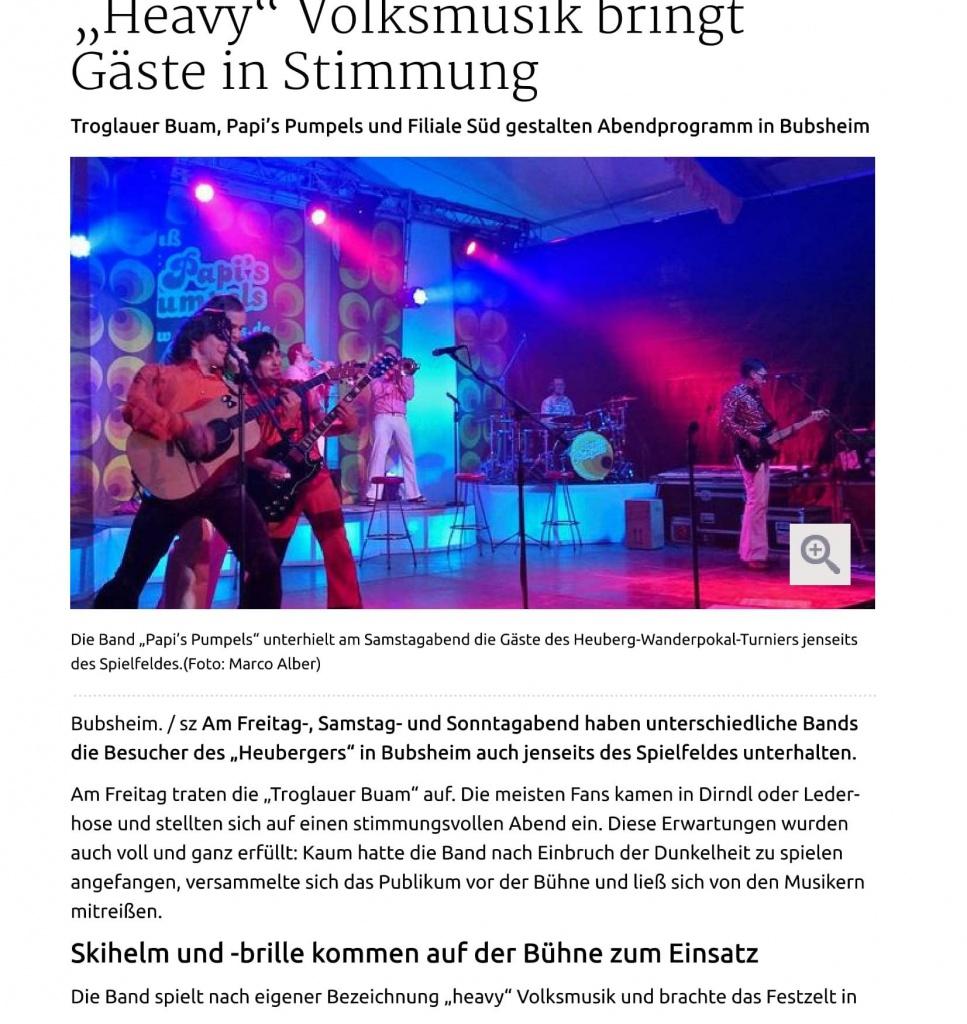 25.5.15 Spaichingen ÔÇ×HeavyÔÇ£ Volksmusik bringt G+ñste in Stimmung-1